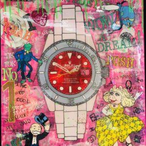"""B1002 Pop Art Titel ,,My Favorit"""" von Susane Abt"""