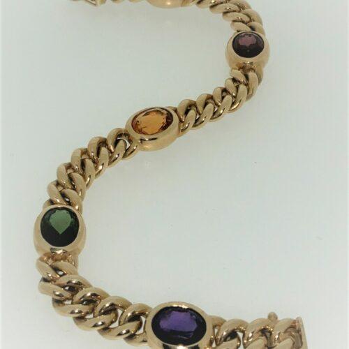 S1076 Armband mit Steinbesatz