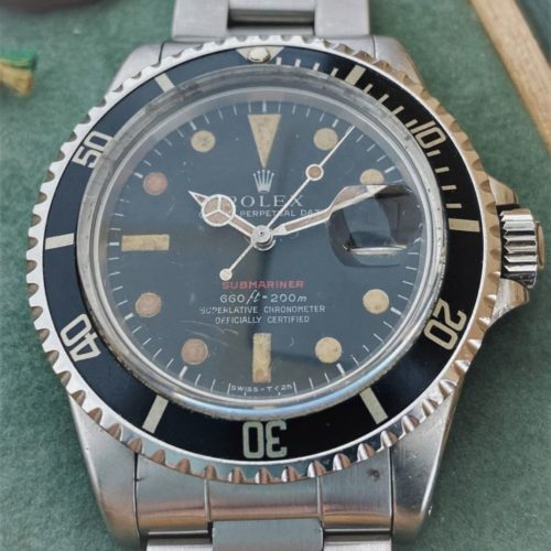 U1007 ROLEX Submariner 1680 (Red Submariner)