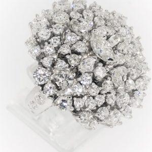 S1008 Damenring Diamanten ca.6,71ct