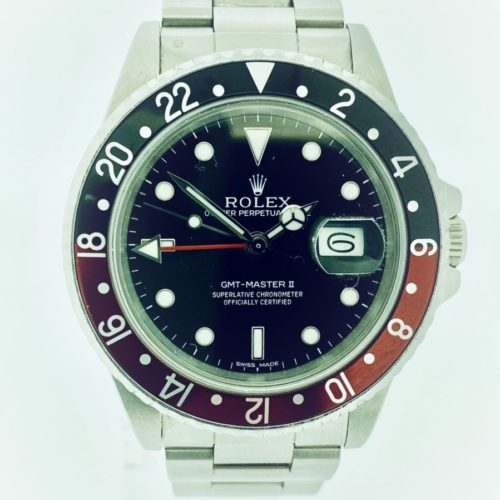 U1044 ROLEX GMT- Master II 16710 (Coke Fat Lady)