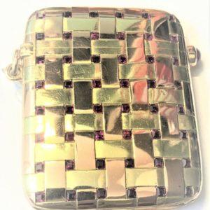 A1004 LA GLOCHE Goldene Streichholzschachtel
