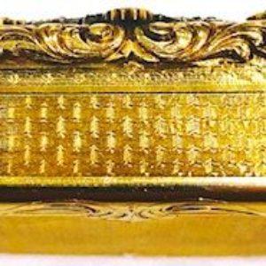 A1006 TABATIERE aus dem Besitz Sultan Abdülhamid II