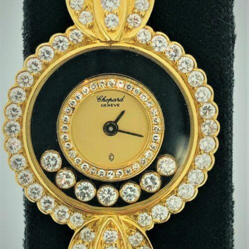 U1011 CHOPARD Damenuhr mit Diamanten (gestohlen)