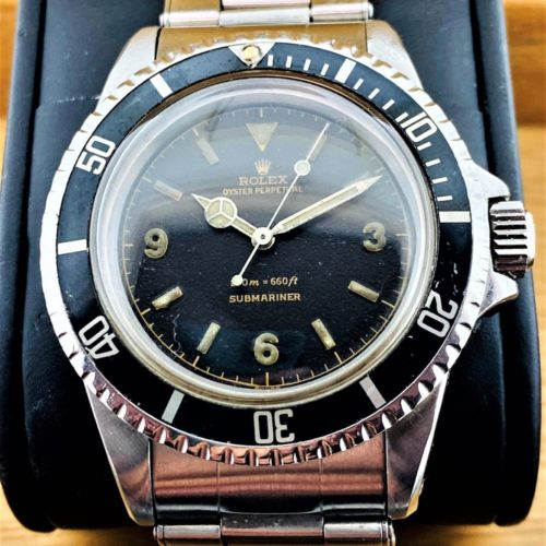 U1015 ROLEX Submariner 5513 (Explorer Dial)