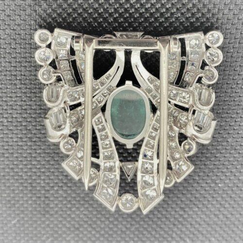 S1084 Brosche Art Deco