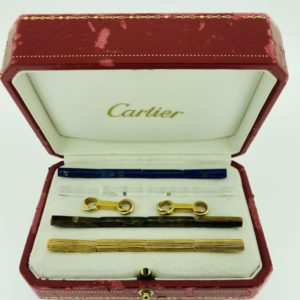 S1090  Manschettenknöpfe Cartier (Model Tricolor) (gestohlen)