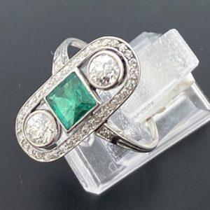 S1096 Ring Art Deco um 1920