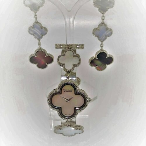 S1014 van Cleef&Arpels Paris Alhambra Armbanduhr