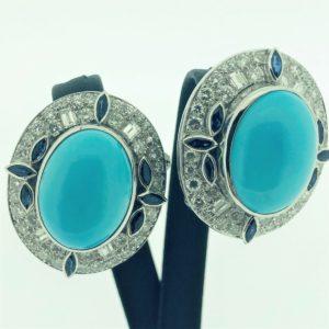 S1026 Ohrclips Diamanten