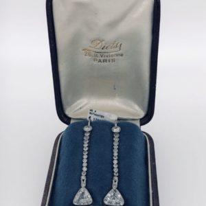 S1036 Ohrhänger Diamanten