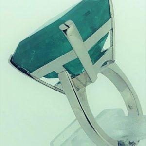 S1039Ring Smaragd