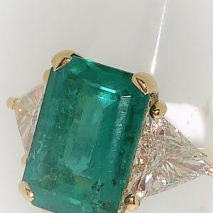 S1040 Ring Smaragd