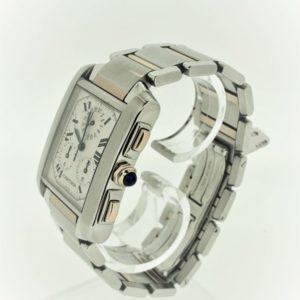 U1009 Cartier Paris Francaise Chronograph St/GG