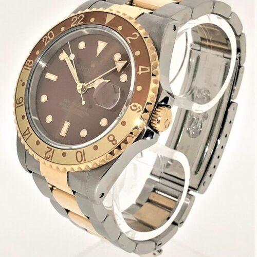 U1078 ROLEX GMT II Stahl/Gold